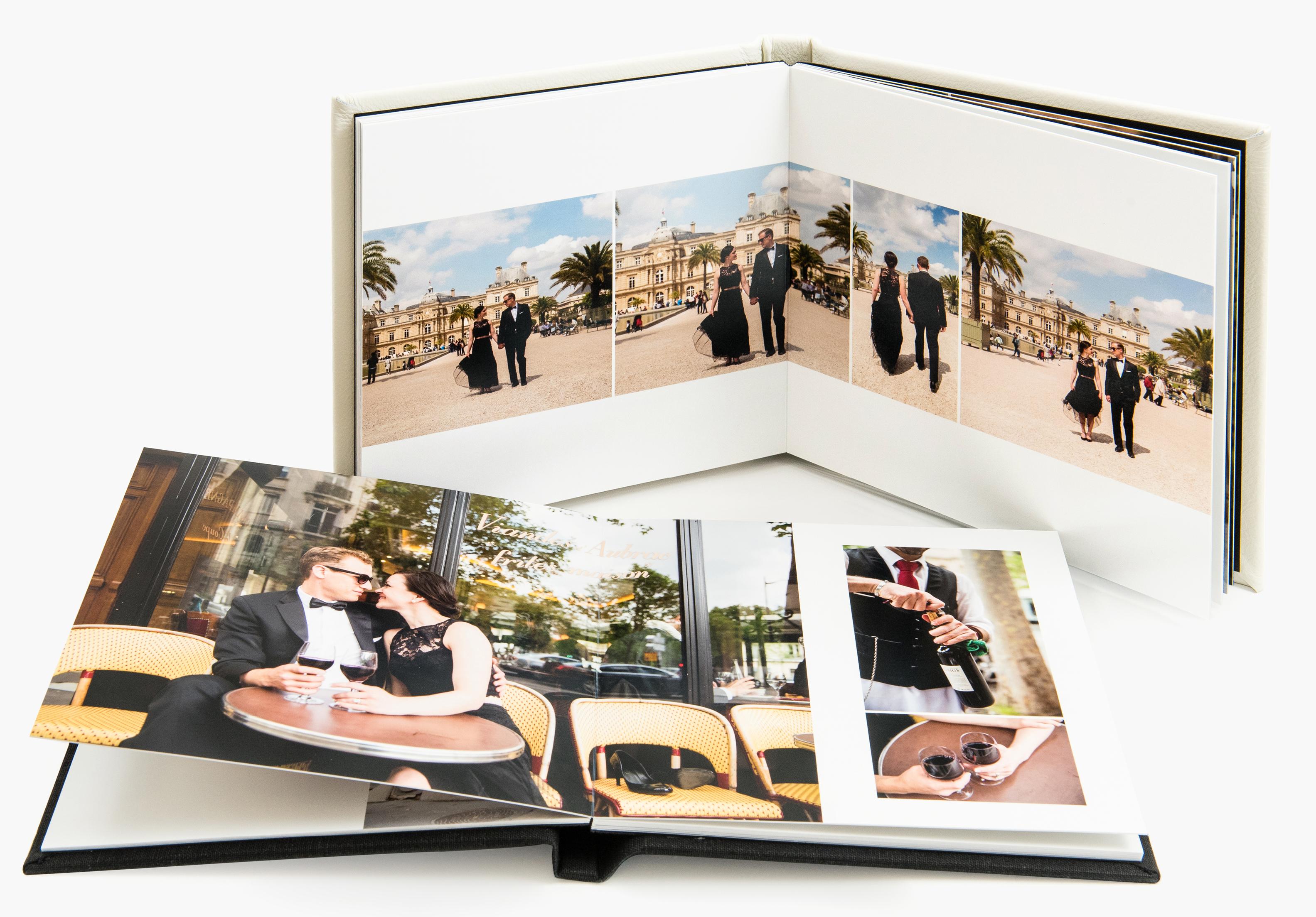 3 sizesof photo albums